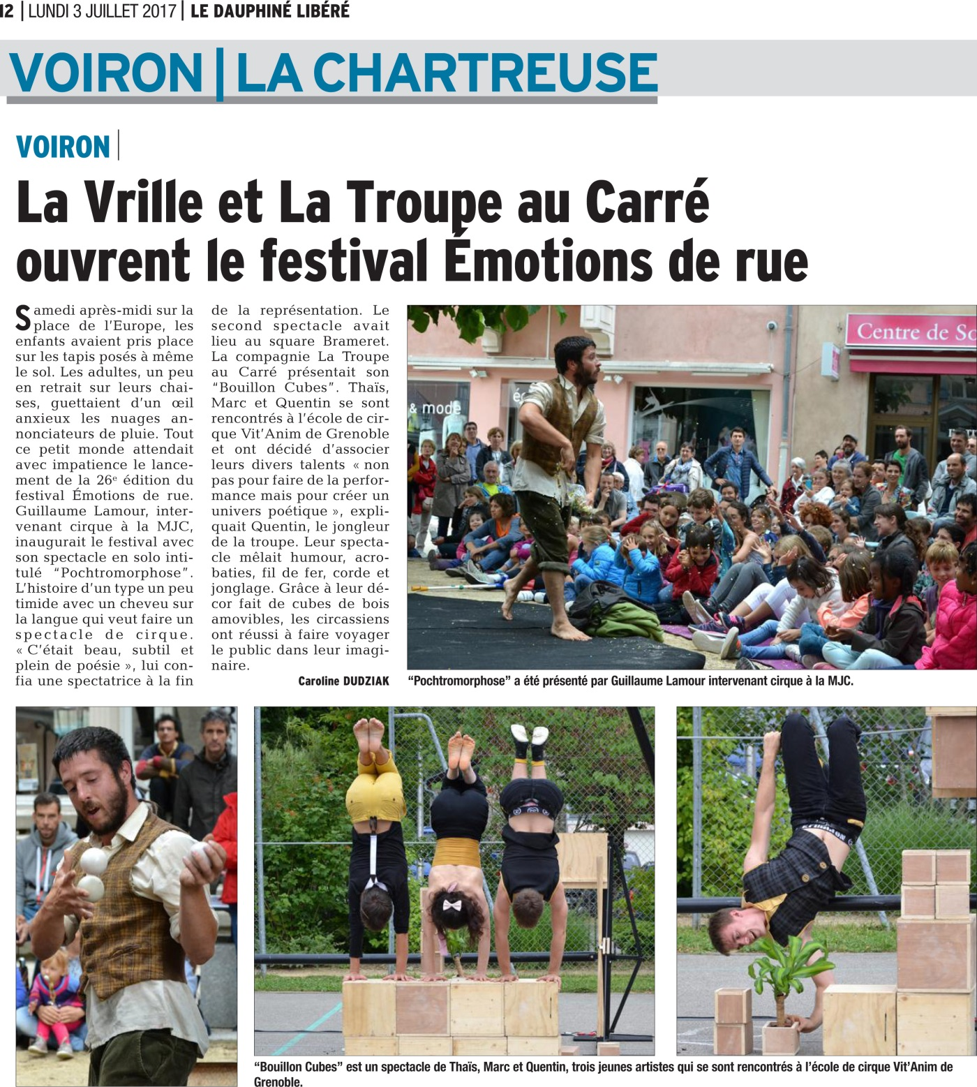 Article Emotion Rue TAC